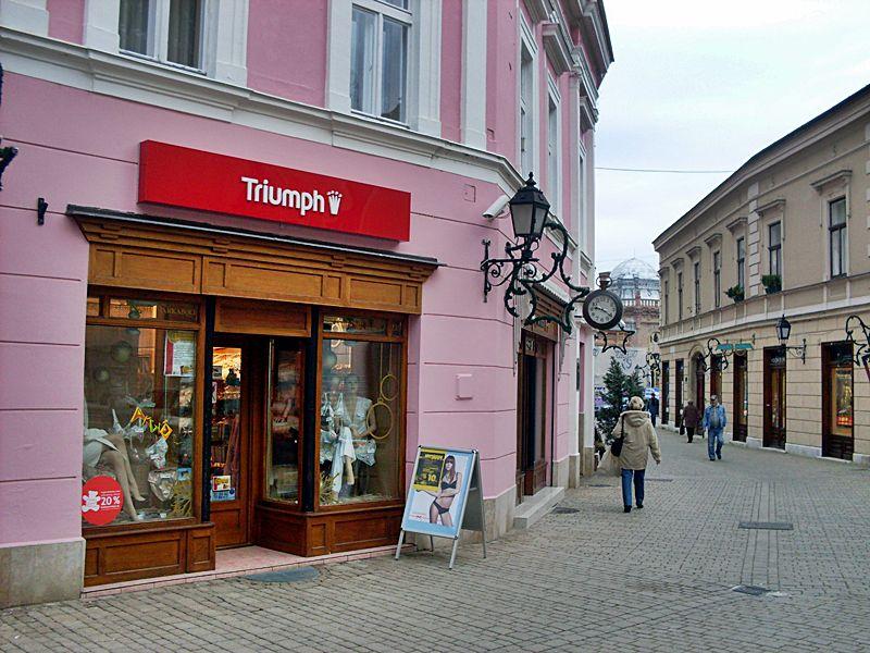 A Korona Zrt. üzlete Székesfehérváron