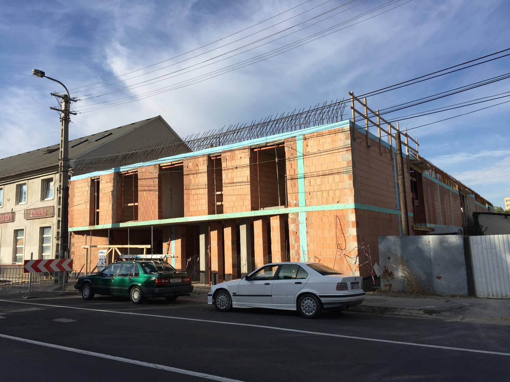 Új építésű társasház Székesfehérváron