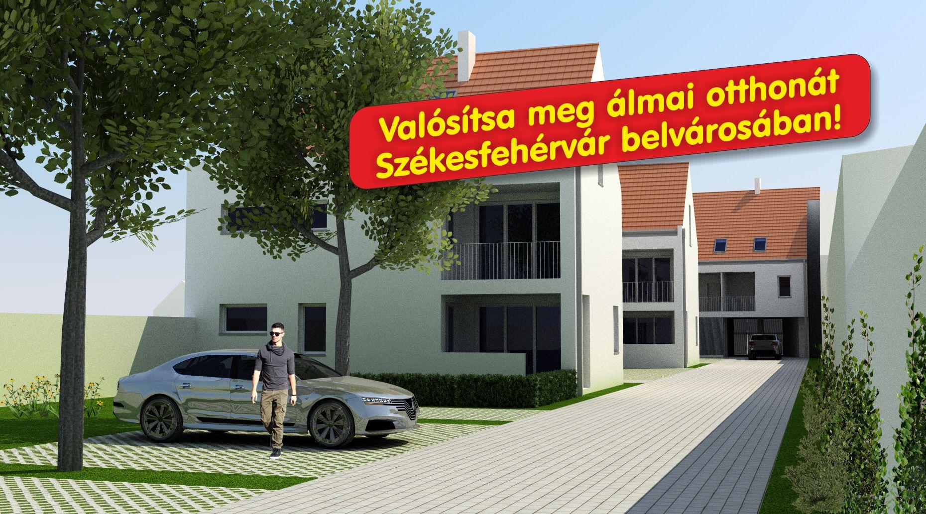 Eladó lakások Székesfehérváron - Korona Lakópark