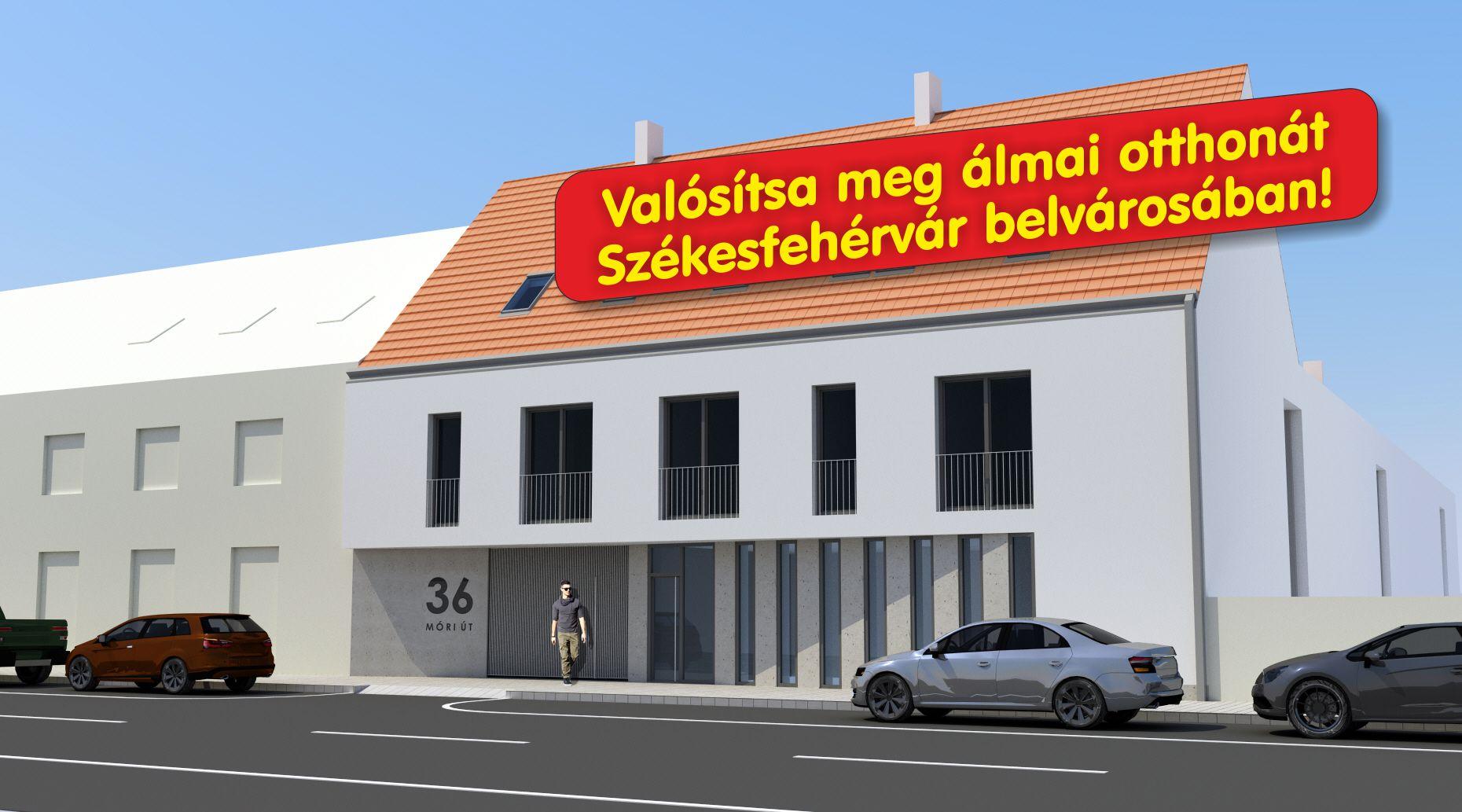 Korona Lakópark - új építésű társasház Székesfehérváron